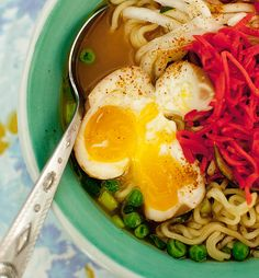 Fresh Pie! ~ Top Ramen, it's all about the eggs!
