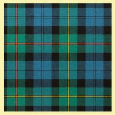 MacEwan Ancient Medium Weight Braeriach 13oz Tartan Wool Fabric - For Everything Genealogy