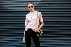 Street style à la Fashion Week printemps-été 2017 de New York : Romee Strijd
