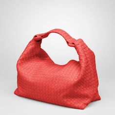 Bottega Veneta New Red Intrecciato Light Calf Slone Bag Italian Handbags 75fea3375e