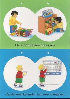 Takenbord Daily Schedule Preschool, Visible Learning, Kindergarten, Clip Art, Classroom, Creative, Kids, Fictional Characters, Labels