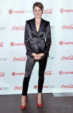 Look de Shailene Woodley : L'actrice de Divergente canonissime aux CinemaCon Big Screen Achievement Awards !