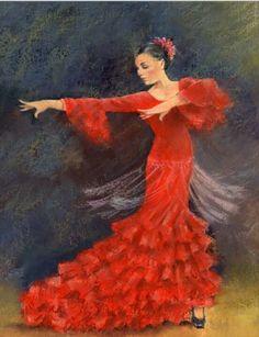 Flamenco dancer @@@@¡¡¡¡¡.....http://www.pinterest.com/heatherdonaghy3/spanish-style/ €€€€€€€€€€€€€~~~~~~~~~~~~~~