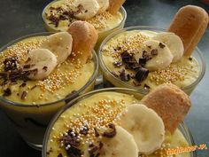 Banánový krém s nutelou   Mimibazar.sk Acai Bowl, Breakfast, Food, Acai Berry Bowl, Morning Coffee, Essen, Meals, Yemek, Eten