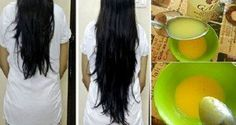 DIY Homemade Balm For Fast Hair Growth And Healthy Hair Very often we want to believe in those attractive advertisements and we want to buy that specific hair balsam which will give our hair great shine and volume. After watching those advertisements Natural Hair Care, Natural Hair Styles, Long Hair Styles, Natural Makeup, Hair Remedies, Tips Belleza, Shiny Hair, Glossy Hair, Hair Health