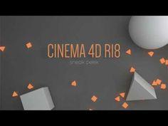 Cinema 4D R18 Sneak Peek
