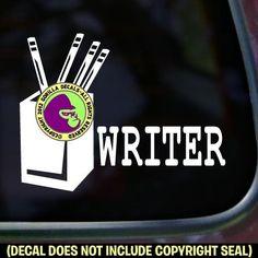 WRITER Vinyl Decal Sticker