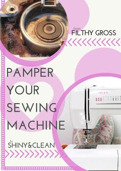 Sewing Machine Tutorial Cleaning your sewing machine is the best way to make it last longer. Learn how to do with this easy step-by-step photo tutorial. No more lint inside! Sewing Basics, Sewing Hacks, Sewing Tutorials, Sewing Crafts, Sewing Ideas, Sewing Diy, Hand Sewing, Techniques Couture, Sewing Techniques