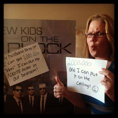 Help a fellow Blockhead out! I want to hang my NKOTB poster in our room.  My husband won't hear of it...unless I can get 1,000,000 likes on my FB page.  It's ON!  http://www.facebook.com/IfDiehardNkotbFanNicCanGet1000000Likes