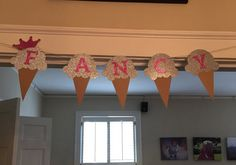 Ice Cream banner by BannersandBarre on Etsy