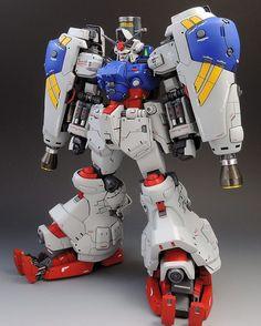 HGUC 1/144 Gundam GP02 Physalis // Modeled by kicksnare  Follow us on Facebook!  #buildfighters #bandai #gunpla #mobilesuit #mecha #manga #anime #toys #toy #otaku #plamo #plasticmodel #hobby #toyphotography #art #toyplanet #toyartistry #nerd #geek