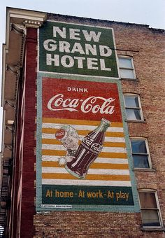 I love old Coke ads. Coca Cola
