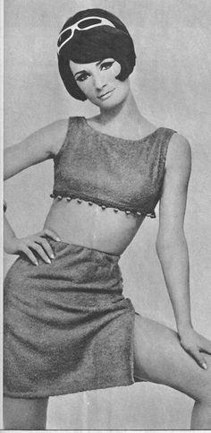 1960's Fashion. Pretty sure I had this top!