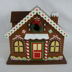 birdhouses to buy | Gingerbread House Birdhouse at Brookstone—Buy Now!