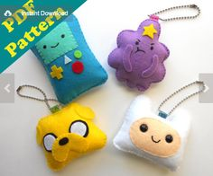 Adventure Time Plush Pattern by Michelle Coffee | Flickr - Photo Sharing!