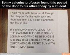 Math questions be like