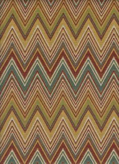 Waverly Fabric Henry Ford Museum Flamestitch Southwest ...