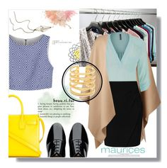 """""""The Perfect Blouse with Maurices"""" by sweetnovember66 ❤ liked on Polyvore featuring maurices, Burberry, L.K.Bennett, FitFlop, Yves Saint Laurent, Alice + Olivia and Stella & Dot"""