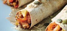 Pumpkin Seed Enchilada with Pork Enchiladas, Mexican Food Recipes, Ethnic Recipes, Santa Maria, Fajitas, Fresh Rolls, Allrecipes, Family Meals, Poultry
