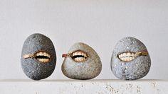Paris Art Web - Sculpture - Hirotoshi Ito - Laughing Stones