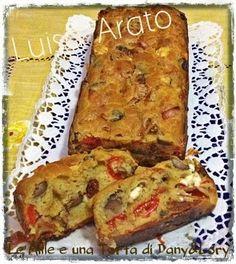 Condividi la ricetta...RICETTA DI: LUISA ARATO Ingredienti: 159 g di farina3 uova150 g di feta50 g pomodori secchi2 peperoni100 g di olive nere denocciolate50 g di pecorino grattugiato1 bustina di lievito in polvere per torte…