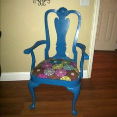 Repurposed chair project