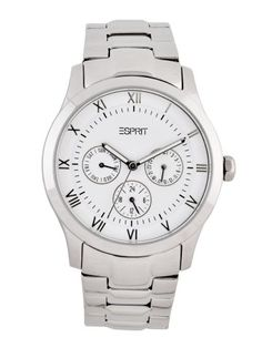 ESPRIT UNISEX WHITE DIAL CHRONOGRAPH WATCH / Rs. 6,995
