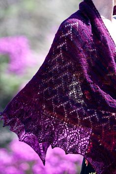 beauty shot: The Regenerate shawl celebrating New Zealand's rebirth after the earthquake.
