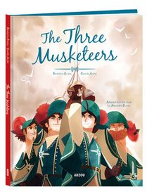 (Auzou) Enter a world of friendship, honor, and duty to your King in seventeenth century France with this beautifully illustrated adaptation of this classic and world-famous French novel by Alexandre Dumas. THE THREE MUSKETEERS