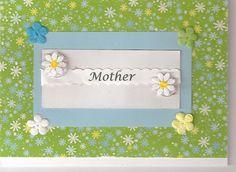 Mother's Day Garden of flowers handmade card