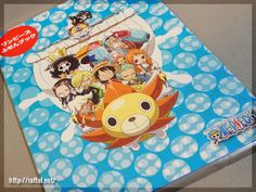Original One Piece Post-it note goods from Japan Post.