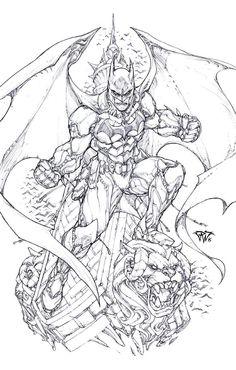Batman by Paolo Pantalena