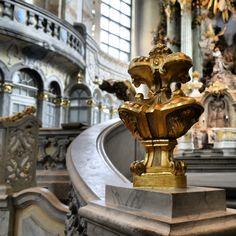 #detailaufnahme in der #frauenkirche #barock