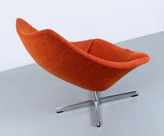 Big Oister lounge chair by Pierre Paulin for Artifort, 1950s