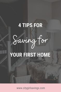Saving for your first home is a major milestone! And a lot goes into it. The #CityGirlSavings Team is walking you through a few important steps to keep in mind during the home-buying process. Read now on the blog! #FirstTimeHomeBuyers #MoneyMoves #MoneyGoals