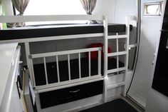 Ideas for keeping the little people IN the bunks....