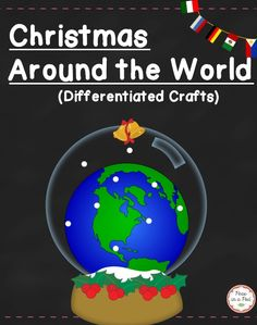 Christmas Around the World ~ 2 Differentiated Make & Take Booklets! (Primary is a cut & paste. Intermediate kids can use the write & create version. )www.teacherspayteachers.com/Product/Christmas-Around-the-World-2208364 (paid)
