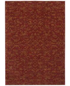 "Karastan Area Rug, Woven Impressions Vintage Batik Chili Pepper 8' X 10' 5"" - 8 x 10 Rugs - Rugs - Macy's"
