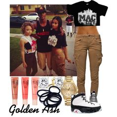 Jordan's 9th Mac City, created by fashionsetstyler on Polyvore