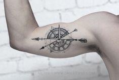 """Résultat de recherche d'images pour """"geometric compass tattoo"""""""