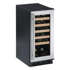 U-Line 24 Bottle Wine Cooler - Stainless Steel  #winecooler
