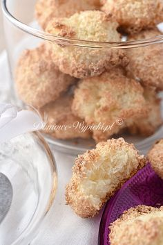 Kokosanki Cereal, Food And Drink, Sugar, Breakfast, Recipe, White Chocolate, Biscuits, Easy Coconut Macaroons, Food Portions