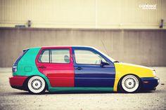 VW#Golf#mk3#harlequin