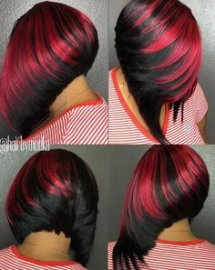 50+ Colored Bob Hairstyles for Black Women Over 40 #ShortHairStyles