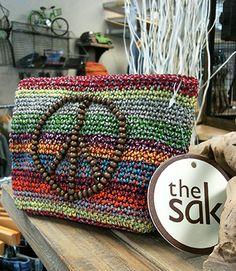 the sak classic crochet cosmetic