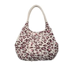 Alva Brown Pink Printed College Bags For Girls from YOLO