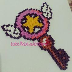 Card Captor Sakura hama beads by totebeadsroom