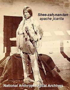 Shee-zah-nan-tan, apache jicarilla(1874)