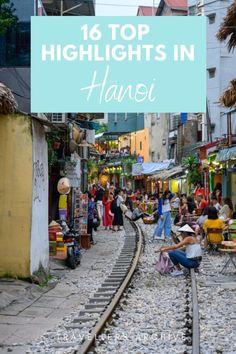 Vietnams Hauptstadt Hanoi ist an Gewusel nicht zu überbieten. So chaotisch und verrückt sind wenige Städte in Südostasien. Die Stadt am Red River bietet viele interessante Sehenswürdigkeiten, die man auf keiner Vietnam-Reise auslassen sollte. Was aber sind die schönsten Hanoi Sehenswürdigkeiten und die absoluten Highlights?  #vietnam #hanoi
