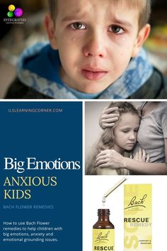 BACH FLOWER REMEDY: A Natural Solution to Calm Anxious Kids, Emotional Grounding issues and Big Emotions | ilslearningcorner.com